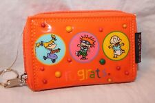 NEW WITH TAGS  1998 VIACOM RUGRATS ORANGE COIN WALLET