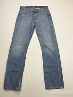 Men's Levi 501 Jeans - W32 L34 - Faded Navy Wash - Great Condition