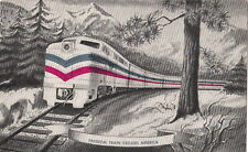 Postcard Railroad Freed Train Crosses America 1948