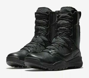 """Nike SFB Special Field 2 Tactical Black Military Combat 8"""" AO7507-001 Size 8.5"""