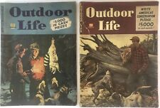 Two (2) Vintage Outdoor Life Magazines February 1946 & March 1946 Hunting Sport