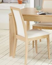60% OFF SALE! 2 LUXURY Baumhaus OLTEN Light Oak Dining Chairs (VDC03E) SRP £319
