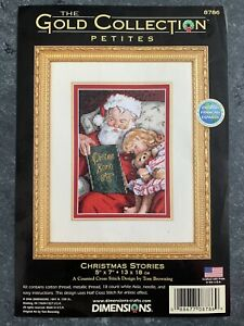 """DIMENSIONS GOLD COLLECTIONS""""Christmas Stories"""" Kreuzstich-Stickpackung 8786"""