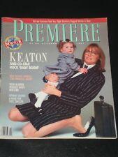 PREMIERE magazine 1987, Diane Keaton, Baby Boom, Dennis Quaid, Martin Scorcese