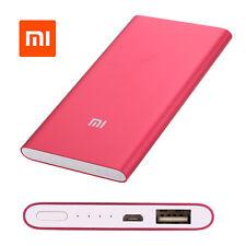 Original Xiaomi MI Power Bank 5000 mAh Utra Thin 9.9mm NDY-02-AM Charger Mobile