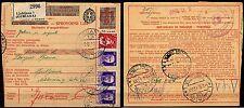 582 - Occupazioni, Lubiana - Bollettino per pacchi, 02/06/1942