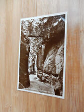1920s real photo Postcard - The High Rocks - Tunbridge Wells - Kent