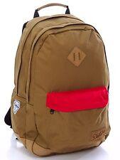 """Dakine DETAIL 27L Olive Green Orange Organizer Pocket 15"""" Laptop Sleeve Backpack"""