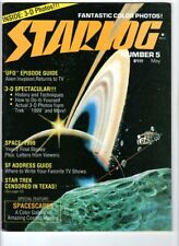 WoW! Starlog #5 Space: 1999! 3-D Spectacular! UFO Episode Guide! Spacescapes!