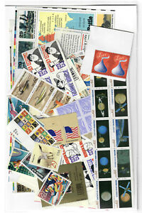 US $60.00 FACE MINT / NH POSTAGE LOT of MOSTLY 29¢ - 39¢ VALUES!
