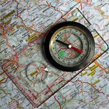 MFH Kompass Karten Kompaß Kartenkompass große Lupe flüssigkeitsgedämpft