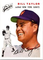 BILL TAYLOR 1994 TOPPS ARCHIVES 1954 TOPPS GOLD #74 (FREE SHIPPING)D