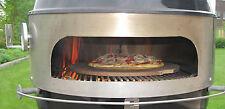 Rotisserie Drehspieß u. Pizzaring Aufsatz für Kugelgrills  (47cm u. 57cm)