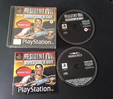 Resident Evil Director's Cut PS1 Play Station Playstation PAL