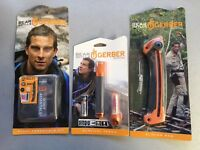 Lot of  3 Gerber Bear Grylls Survival Scout Kit Torch And Saw