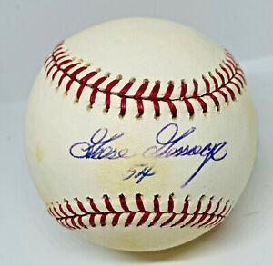 NY Yankees Goose Gossage Signed Baseball Autographed MLB and Fanatics Hologram
