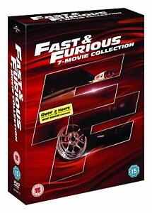 """FAST & FURIOUS COMPLETE MOVIE COLLECTION 1-7  DVD BOX SET 8 DISC R4 """"NEW&SEALED"""""""