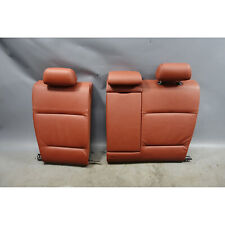 2009-2011 BMW E90 3-Series Sedan Rear Folding Seat Backrest Red Brown Leather