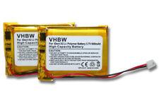2x BATERIA para iDect MT LP053040 CP75 CP-75