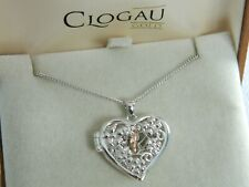 Clogau Sterling Silver & 9ct Rose Gold Fairy Locket RRP £159.00