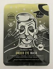 BARBER PRO UNDER EYE MASK with Activated Charcoal & Volcanic Ash (3 Pairs)
