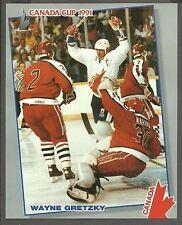 1991 Canada Cup Wayne Gretzky 8x10, 2-sided