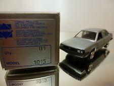 CONRAD 1015  VW VOLKSWAGEN SANTANA  - SILVER  1:43 - VERY GOOD CONDITION IN BOX