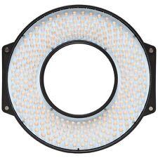 F&v hdr-300s se LED Anello Luce Bi-Color 3200k - 5600k + adattatore obiettivo