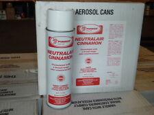 Case of 12 Pineco Neutralair CINNAMON Air Freshener Odor Counteractant 11 oz
