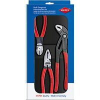 Knipex 00-20-10 3 Piece Pliers Power Set