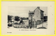 cpa 51 - Village d' AVENAY VAL d'OR (Marne) Place d'Armes