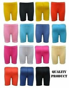 Girls Cycling Running Gym Yoga Above Knee Shorts (out side stitching ) 3120