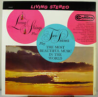 """12"""" 33 RPM STEREO LP - RCA CAMDEN CAS-687 - MOST BEAUTIFUL MUSIC IN THE WORLD"""