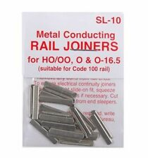 PECO SL-10 24 xFishplates (Track Joiners) Code 100 Track 00 Gauge 2nd Class Post
