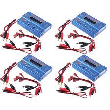 LOT 4 iMAX B6 Charger Professional Digital RC Lipo NiMh Battery Balance Charger