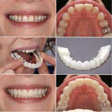 Smile Snap On Bottom Upper Lower False Teeth Dental Veneers Dentures Tooth 1PC