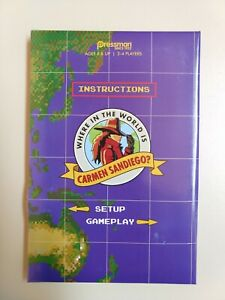 Where in the World is Carmen Sandiego? Card Game Parts & Pieces