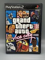 Grand Theft Auto: Vice City - Sony PlayStation 2 (PS2) - Tested/Works - Preowned