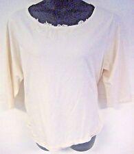 Jennifer Moore JM Collection Women's Shirt Floral Cream Plus Size 3X XXXL