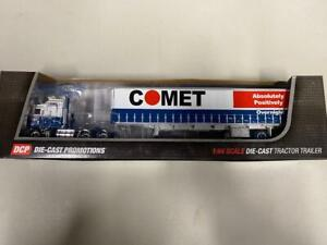 "DCP 34198 ""Comet"" Kenworth K100 w/Tautliner 1:64 Die-cast Promotions First Gear"