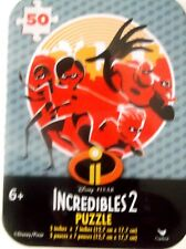 INCREDIBLE S 2  MINI PUZZLE IN COLLECTIBLE TIN 50 PIECE