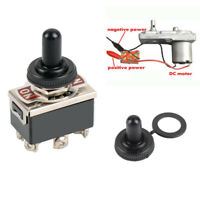 6-Pin DPDT ON-OFF-ON Switch reverse Polarity Motor 15A 250V Electrical Switches