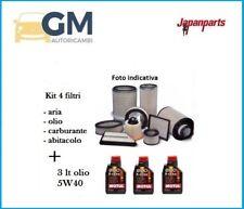 KIT TAGLIANDO 4 FILTRI JAPANPARTS + OLIO SMART CABRIO (450) 0.7 45kW 61HP 698cc