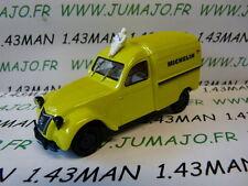 voiture 1/43 Hachettes norev : CITROËN 2CV camionette Michelin