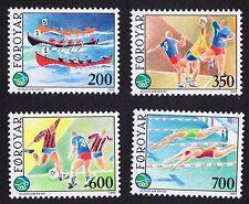Faroe Islands: Sports; complete unmounted mint (MNH) set
