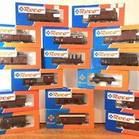 OO Gauge Wagon Bundle X16 Wagons See Pics Perfect Condition Roco