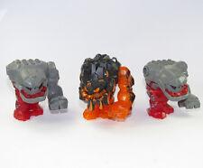 LEGO® Rock Monster groß Rot Orange Power Miners 3 Stück Ersatzteile