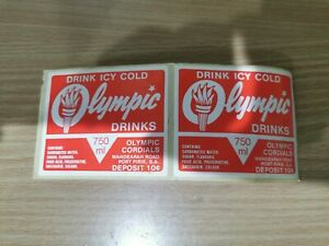 OLYMPIC Drinks decals x 2