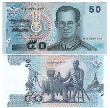 THAILAND 50 BAHT 2004 SIGN 81 UNC P 112
