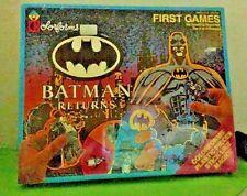 Batman Returns First Games Colorforms Adventure Play Set Unused 1992 Vintage